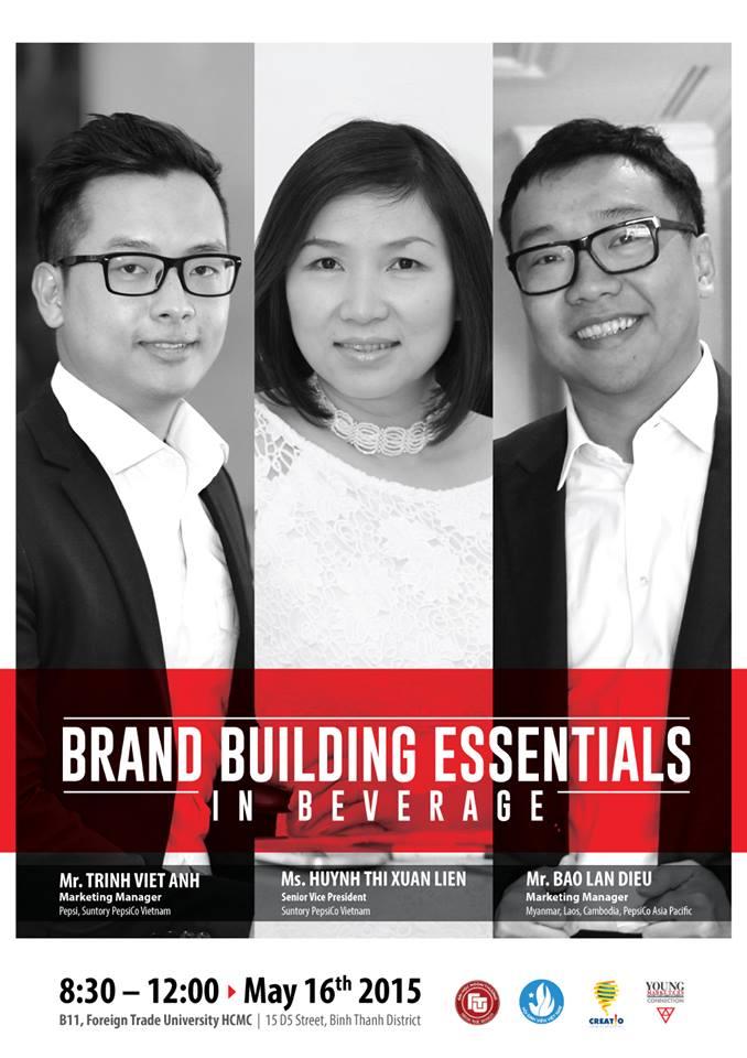 "Talkshow Bổ Ích Cho Marketers Tương Lai: ""Beverage Brand Building"