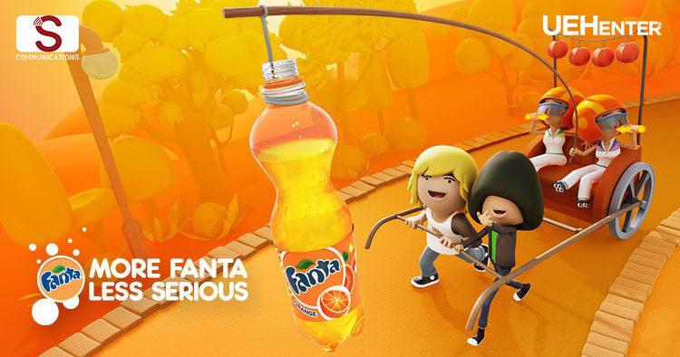 Nước Giải Khát Fanta – More Fanta, Less Serious