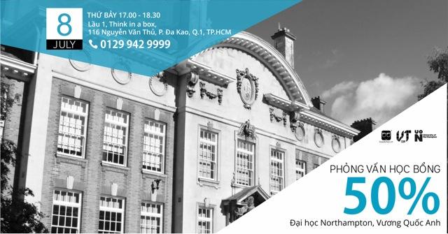 50% Scholarship Interview & Guidelines – University Of Northampton, UK