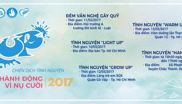 Đêm Văn Nghệ Gây Qũy UP 2017 – Trao Nụ Cười, Nhặt Yêu Thương